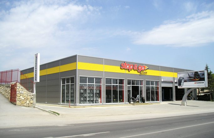 """SERVICE AND SHOP FOR TYRES  """"STOP & GO"""""""