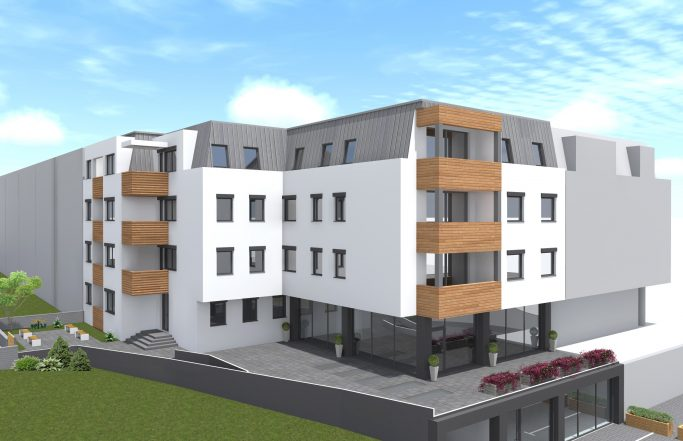 RESIDENTIAL AND COMMERCIAL BUILDING IN BUTEL